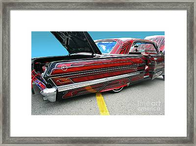 Framed Print featuring the photograph Chev Impala 1 by Bill Thomson