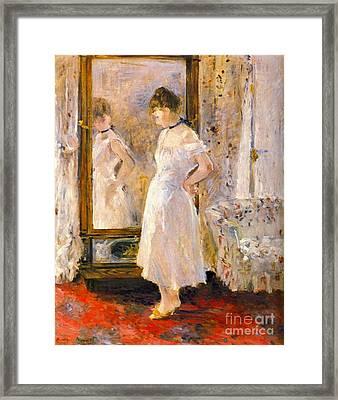 Cheval Glass 1876 Framed Print