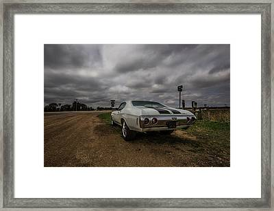 Framed Print featuring the photograph Chevelle Ss by Aaron J Groen