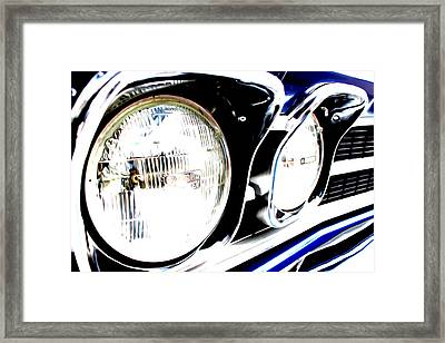 Framed Print featuring the digital art Chevelle by Tony Cooper