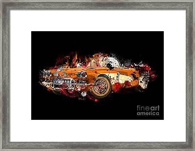 Chevrolet 2 Framed Print by Mark Ashkenazi