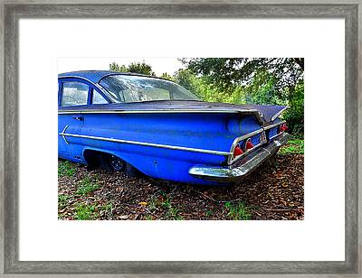 Chevrolet Bel Air Back Side 2 Framed Print