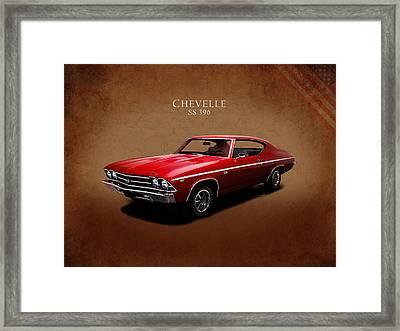 Chevrolet Chevelle Ss 396 Framed Print by Mark Rogan