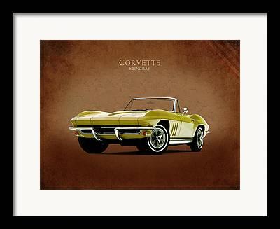 Corvette Framed Prints