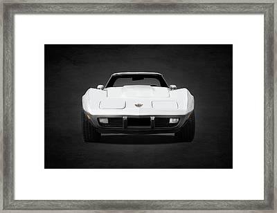 Chevrolet Corvette Sting Ray Framed Print by Mark Rogan