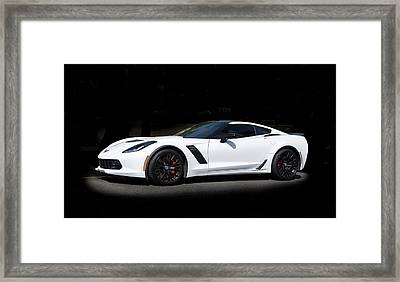 Chevrolet Corvette Z06 - 2017  Framed Print