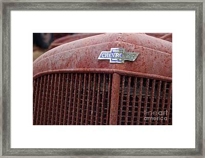 Chevrolet Emblem Framed Print