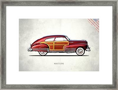 Chevrolet Fleetline 1948 Framed Print