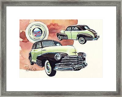 Chevrolet Fleetline Framed Print