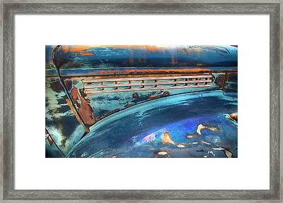 Chevrolet Half Ton Abstract Framed Print