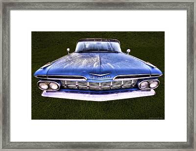 Chevrolet Framed Print by Jerry Golab