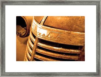 Chevrolet Pick Up  Framed Print by Jez C Self