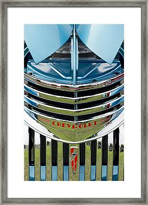 Chevrolet Smile Framed Print