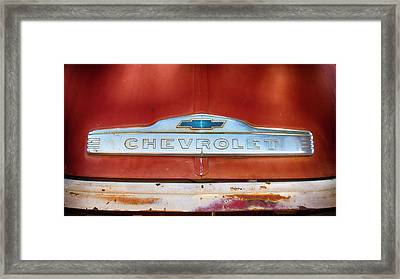 Chevrolet  Framed Print by Stephen Stookey