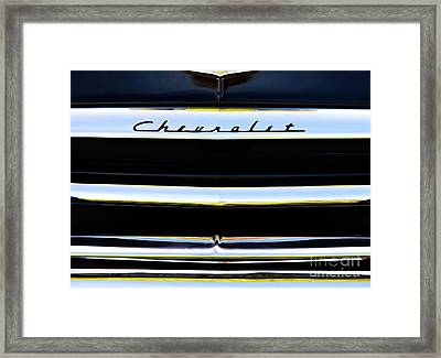 Chevrolet Styleline Abstract Framed Print by Tim Gainey