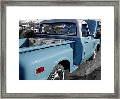 Chevrolet Truck Framed Print