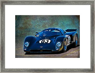 Chevron B16 Framed Print