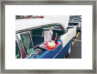 Chevy 2046 Framed Print by Guy Whiteley