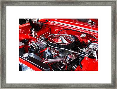Chevy 350 Framed Print
