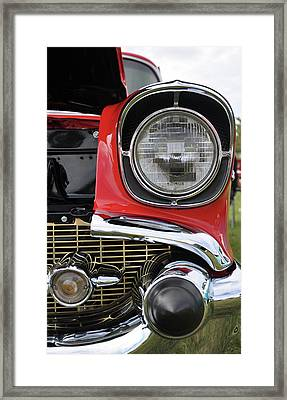 Framed Print featuring the photograph Chevy Bel Air by Glenn Gordon