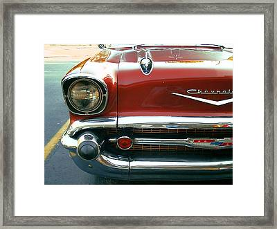 Chevy Bel Air  Framed Print by Jame Hayes