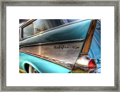 Chevy Bel Air Framed Print