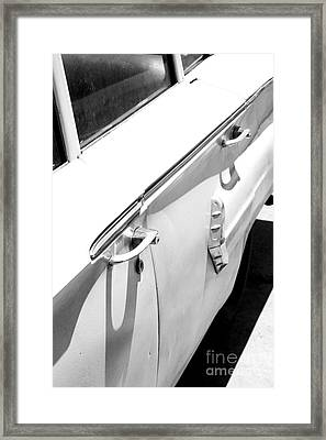 Chevy Biscayne Framed Print by Amanda Barcon
