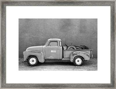 Chevy Classic Framed Print