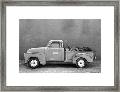 Chevy Classic Framed Print by Todd Klassy