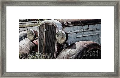 Chevy Grill IIi Framed Print