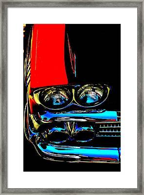 Chevy Framed Print by Gwyn Newcombe