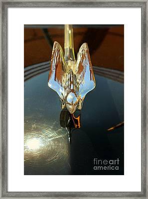 Cadillac Hood Ornament Framed Print
