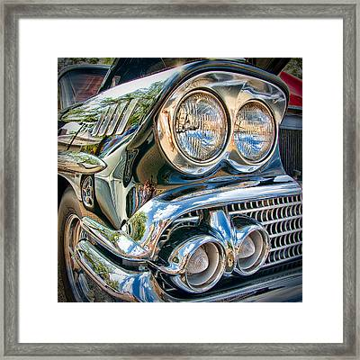 Chevy Impala 1958 Framed Print by Andreas Freund