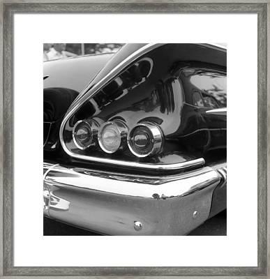 Chevy Impala Framed Print by Richard Singleton