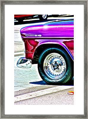 Chevy Framed Print by Jeremy Stewart