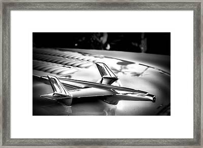 Chevy Noir Framed Print