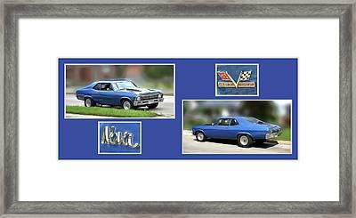 Chevy Nova Horizontal Framed Print