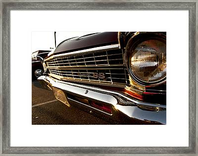 Chevy Nova Ss Framed Print by Cale Best
