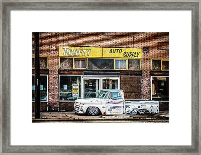 Chevy Pick Up 3 Framed Print
