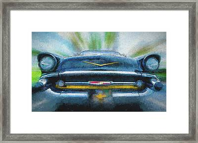 Chevy Power Framed Print