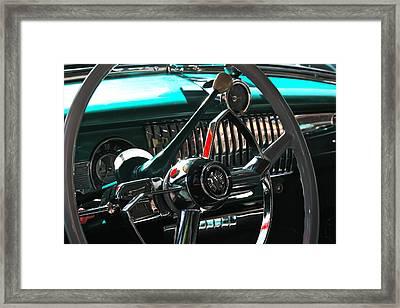 Chevy Powerglide Framed Print by Gwyn Newcombe