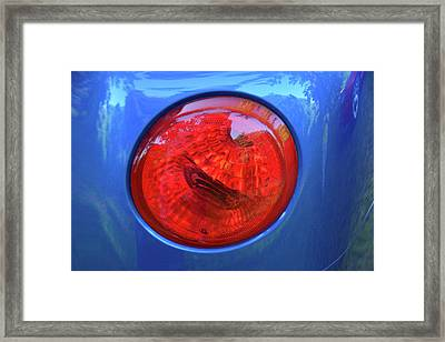 Chevy Ssr Tail Light Framed Print