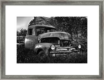 Chevy Workhorse Framed Print