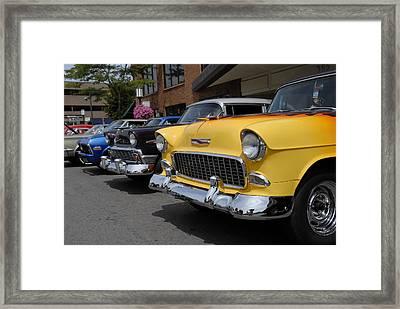 Chevy's Framed Print
