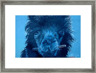 Chew On This Framed Print by Kenny King