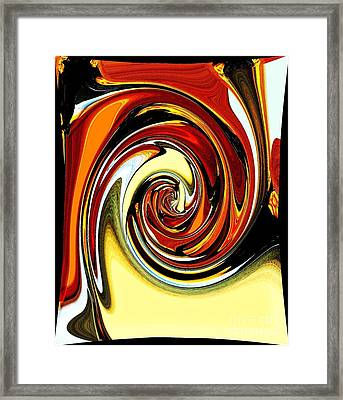 Chewey Candy Framed Print by Marsha Heiken