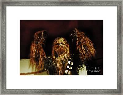 Chewie Framed Print