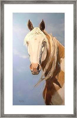 Cheyenne Whisper Framed Print
