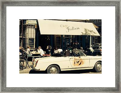 Chez Julien Framed Print by Pati Photography