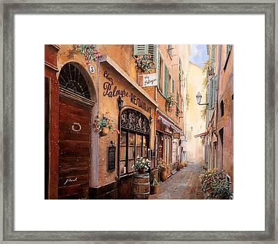 Chez Palmyre  Framed Print